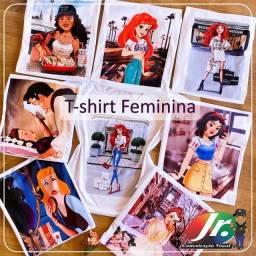 T-shirt Princesas Disney