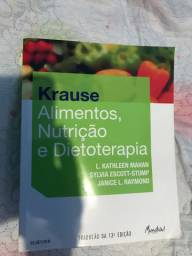 Kit de livros para curso de nutrição