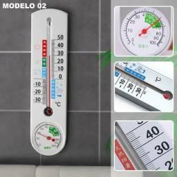 Título do anúncio: Termômetro e Higrômetro Tester de parede