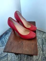 Scarpin vermelho Via Mia