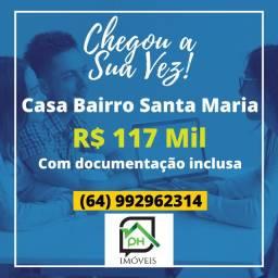 Casa Bairro Santa Maria Itumbiara Goias