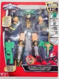 Megazord Rumble tusk Power Rangers ninja steel