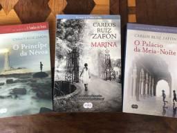 3 livros - Carlos Ruiz Zafón