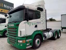 Scania R 440 6x2 2013 Automático Completo Suspensão Ar Top