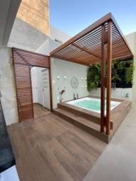 Casa completa com acabamentos de qualidade, mobiliada e decorada