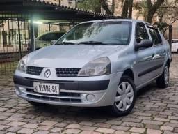 Clio Sedan Expression 1.0 2005 Completo