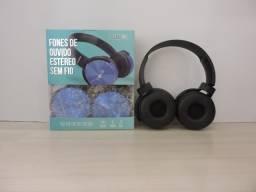 Headphone Sem Fio e Com Microfone
