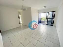 Apartamento com 3 quartos para alugar, 86 m² por R$ 1.900/mês - Torre - Recife/PE