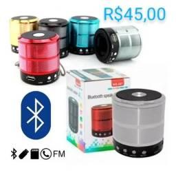 Mini Caixa de som Bluetooth WS-887