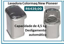 LAVADORA 4,5 kg EM PROMOÇÃO