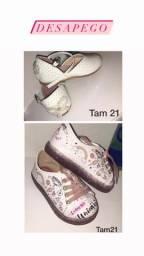 Sapatos feminino infantil