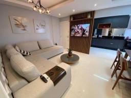 Apartamento mobiliado com 03 dormitórios em Capoeiras