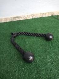 Puxador Triceps Corda (Corda Para Treino De Triceps)