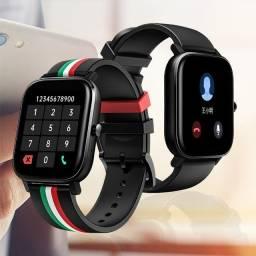 Relogio Smartwatch 4gb Colmi P12 Caixa Com 44mm Tela 1.4 Pol - Carpina-PE