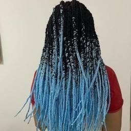 Box braids (ler descrição)