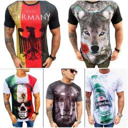 Camisetas longline moda jovem
