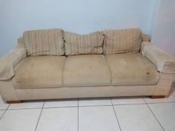 Mesa cadeiras aparador mesinhas rack e sofa