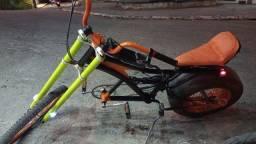 Bike Chopper faço troca