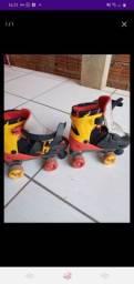Vendo patins quad Semi novo