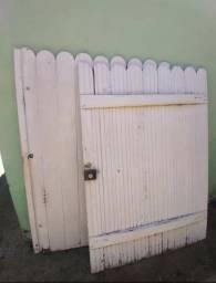 Portão de Excelente madeira