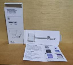 Adaptador iPhone/iPad (Lightning)  para  TV/MONITOR (HDMI)