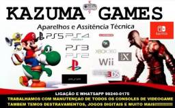 Assistencia Tecnica Games Ps4 Ps2 Ps3 Xbox 360 One Nintendo Wii Psp 3ds Switch etc