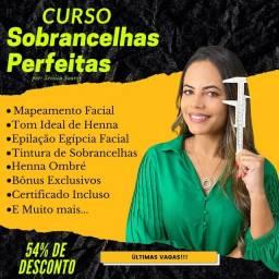 CURSO ONLINE DE DESIGNER DE SOBRANCELHA APENAS 89,90