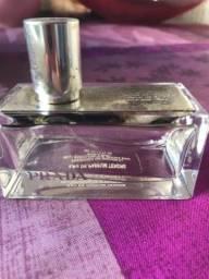 Frasco vazio de perfume Prada