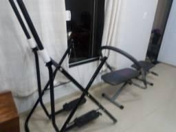 Simulador de caminhada/aparelho p abdominal