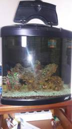 Aquario marinho JAD 58 litros