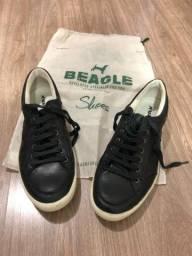Sapatênis Beagle Couro