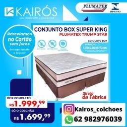 Conj SUPER KING Molas Ensacadas Individualmente até 12x sem juros <br>