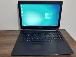 Notebook para estudo ou home office com SSD 240 GB, formatado