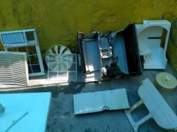Refrigeração e máquina de lavar