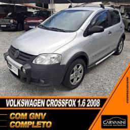 Volkswagen Crossfox 1.6 2008 com GNV