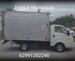 Mudança e frete caminhão baú HR Goiás interiores e cidades todos os estados etc.