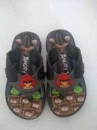 Sandalia grendene Angry Birds