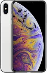 Celular Apple iPhone XS Max 64GB - Câm. 12MP - Prateado