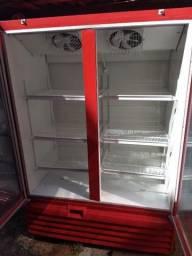 Freezer expositor metalfrio 1022 litros 220V super novo
