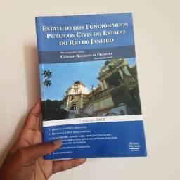 Livro Estatuto dos Funcionários Públicos Civis do Estado do RJ