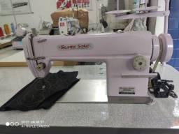 Máquina de Costura Reta Silver Star Rosa