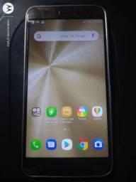 Vendo Asus zenfone 3 32gb biometria funcionando tudo pequeno trincado não afeta nada