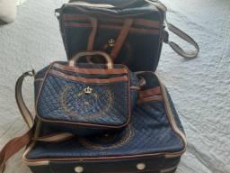 Kit 3 bolsas saída da Maternidade + Brinde Exclusivo