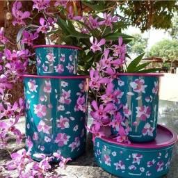 Tupperware linha Floral