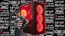 PC Gamer i3-10105F + GT 1030 2GB | Novo c/ Garantia!