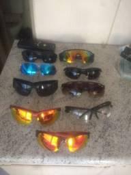 Óculos polarizado ciclismo
