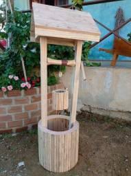 Poço de jardim para decoração