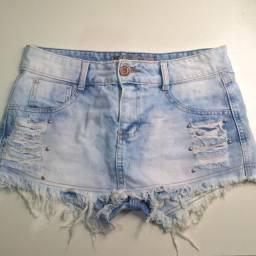Short saia jeans ad