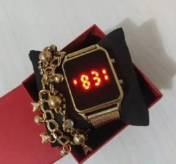 Relógio feminina R$40,00
