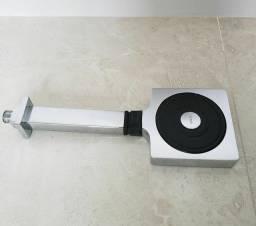 Chuveiro de Parede Technoshower Quadrado Cromado Dn15 1/2 novo.